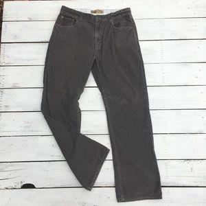 Old Navy Bootcut Brown Corduroy Pants, 36x34